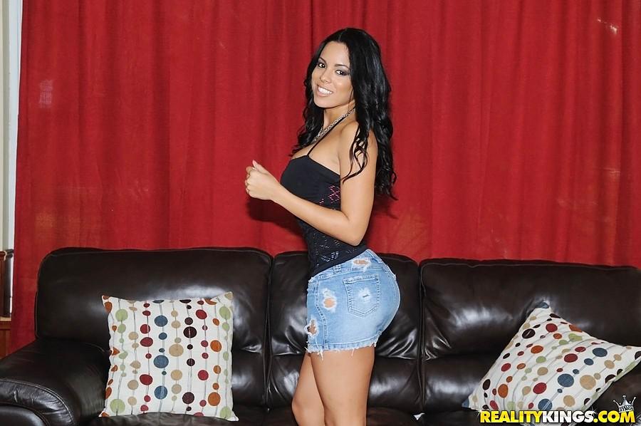 Thick Latina Ass Creampie